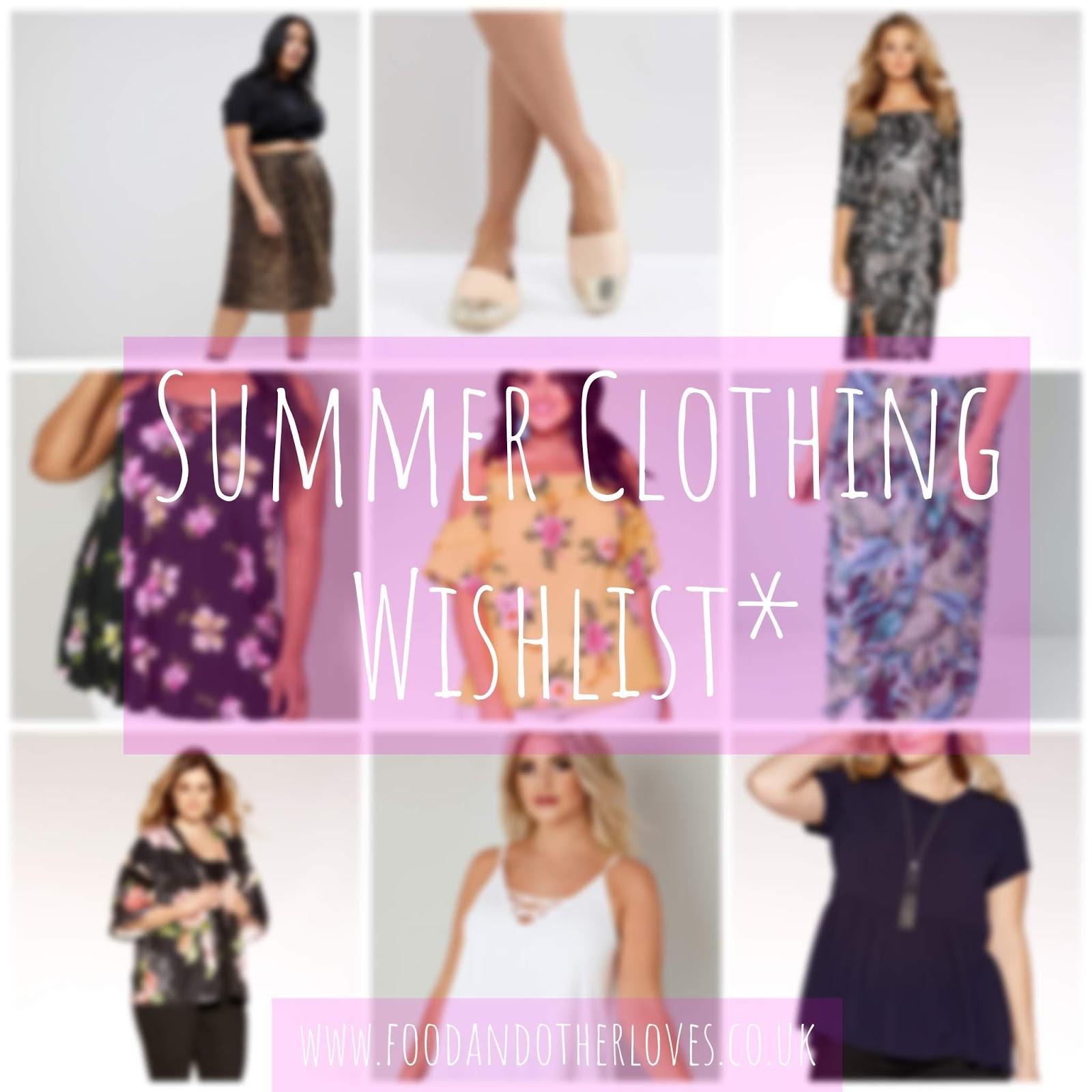 2de685683422 Summer Clothing Wishlist - Quiz