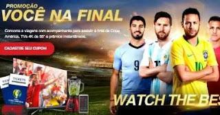 Cadastrar Promoção Semp TCL Assistir Final Copa América 2019 e Tvs 4k