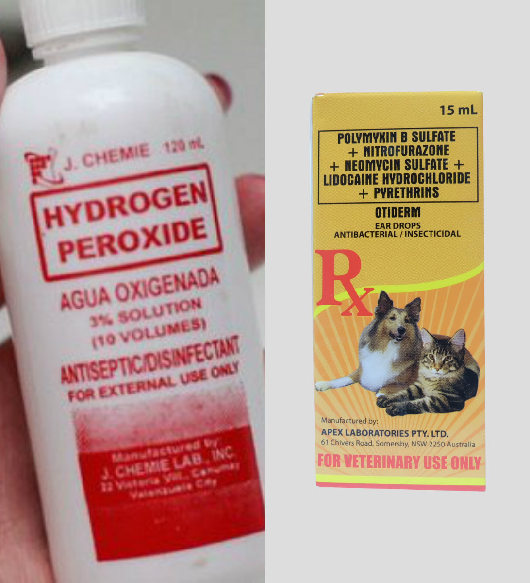 Hydrogen Peroxide For Dog Ear Cleaning