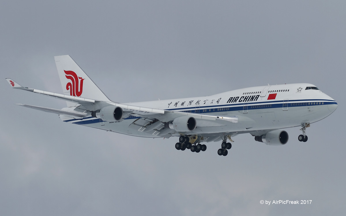 World Of Aircraft Pictures  Air China Boeing B747