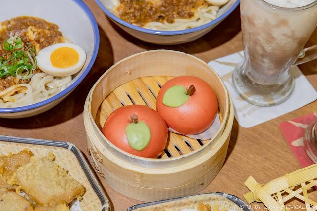 【台中美食點心|有春茶館】芋見小蘋果