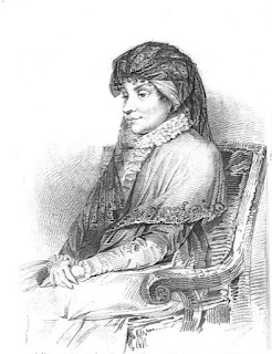 Queen Charlotte   from Memoirs of Queen Charlotte  by WC Oulton(1819)