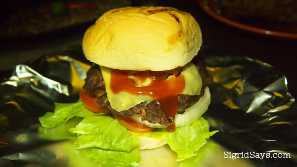 Lord Byron's cheeseburger