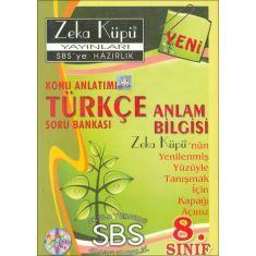 5TL Zeka Küpü 8.Sınıf Türkçe Konu Anlatımlı Soru Bankası (Anlam Bilgisi)