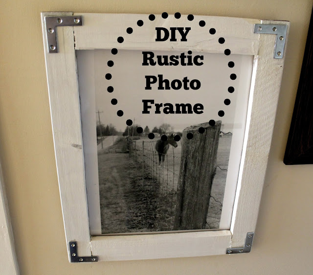 so for the last few weeks i have been busy building my own rustic frames loving how they turned outmy less than perfect but perfect to me diy frames