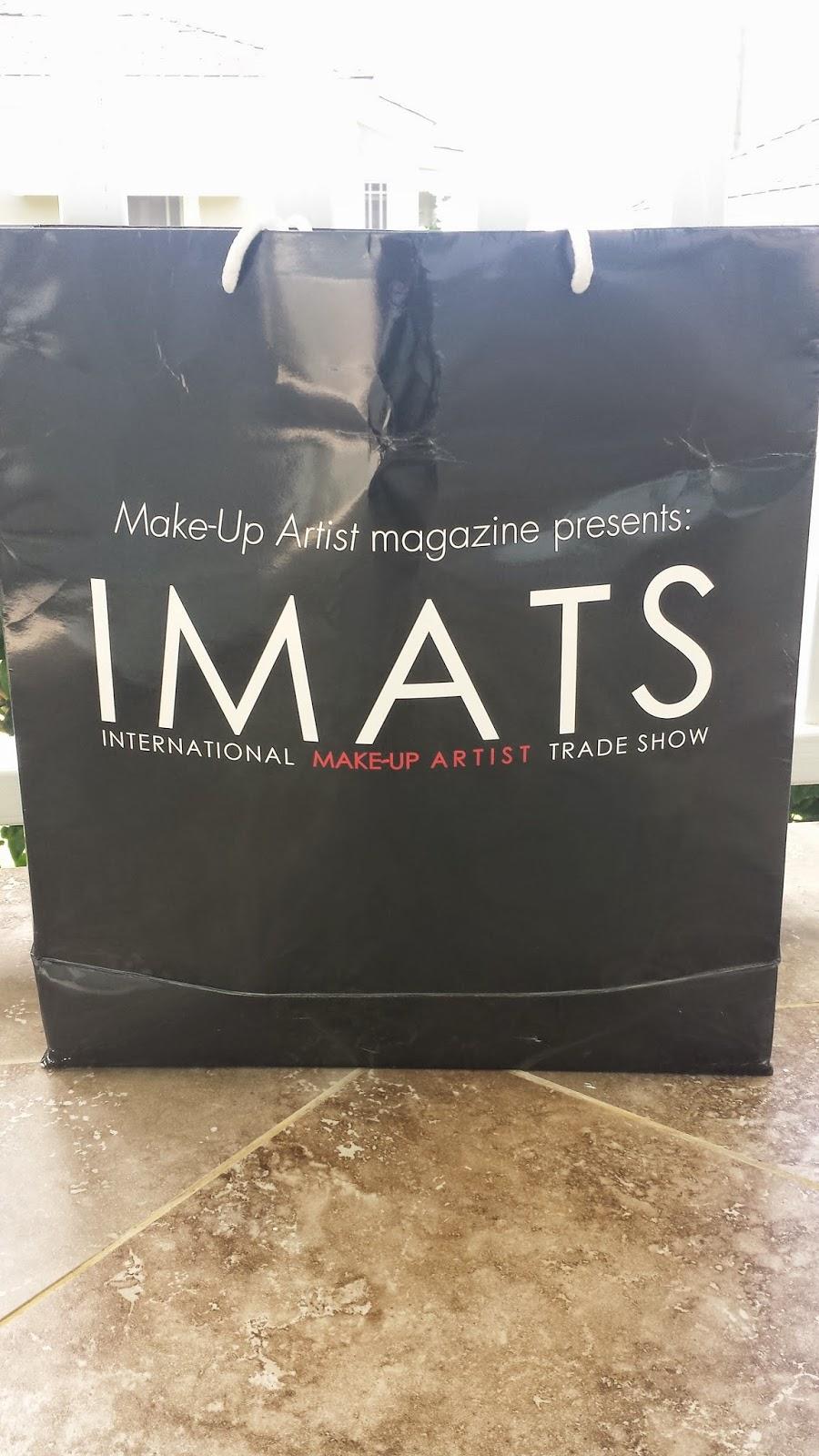 IMATS NYC 2015 bag - www.modenmakeup.com