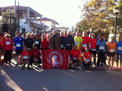 Ο Α.Π.Σ.Δ «ΖΕΥΣ» ΠΙΕΡΙΑΣ στους αγώνες 5ος Φιλίππειος δρόμος - 11ος Χειμωνιάτικος Ενιπέας - 1ος αγώνας Melindra Trail 5km.