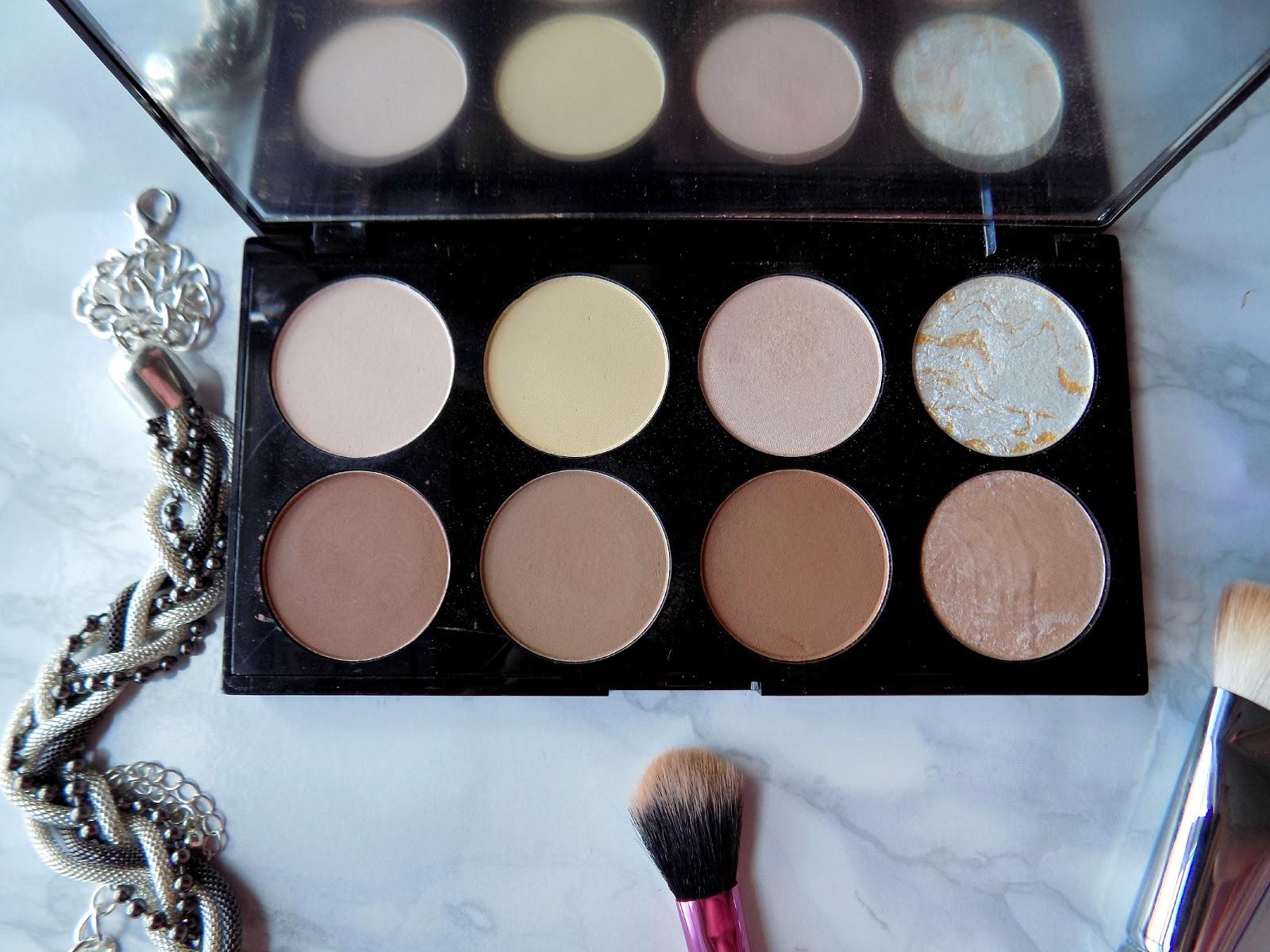 makeup revolution ultra contour palette review mummy 39 s. Black Bedroom Furniture Sets. Home Design Ideas