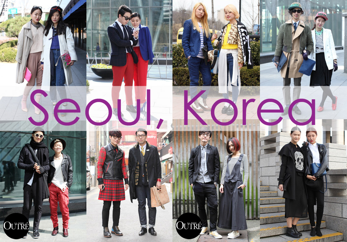 K world Style  K pop   K Drama Fashion   Commentary  American vs     Seoul street style according to  La Mode Outre