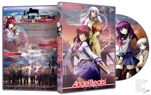 Capa DVD Angel Beats