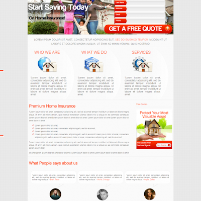 Home Insurance Template