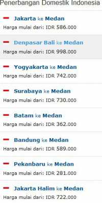 Tiket Pesawat Murah Ke Medan Kno Wisesatravel Com
