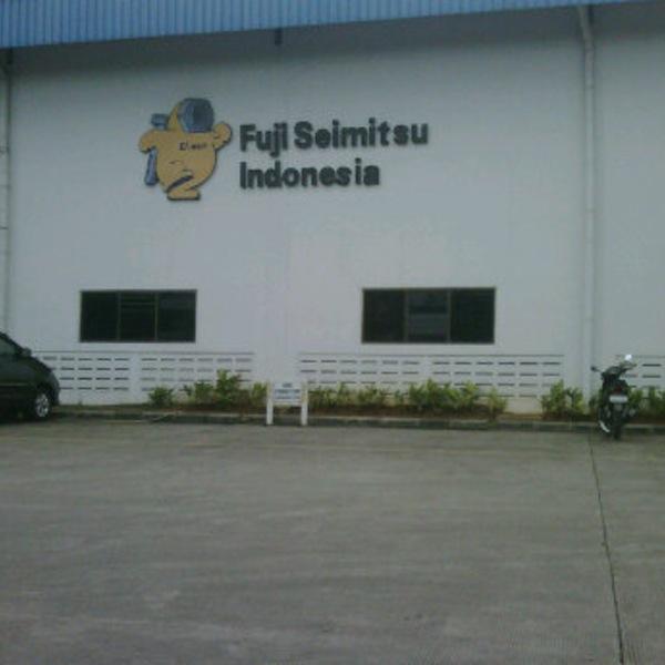 Loker Cikarang Terbaru 2018 PT Fuji Seimitsu Lulusan SMA/SMK