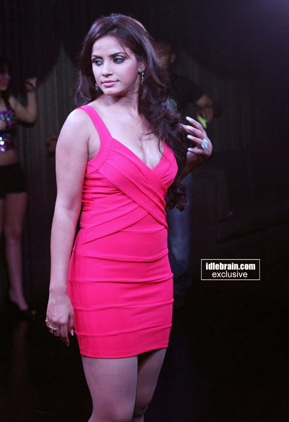 Indian Garam Masala Neetu Chandra Pink Back Hot  Spicy