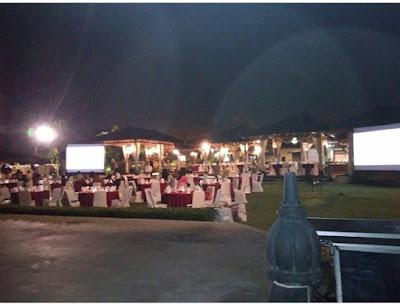 Night garden Party di Prambanan resto (shella dan hengki's wedding)