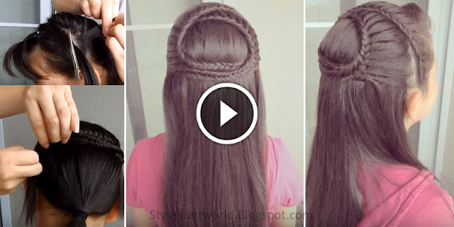 How To Create Fish Braid Hairstyle, See Tutorial