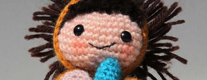 The Amigurumi Lion boy symbolizes the power within.