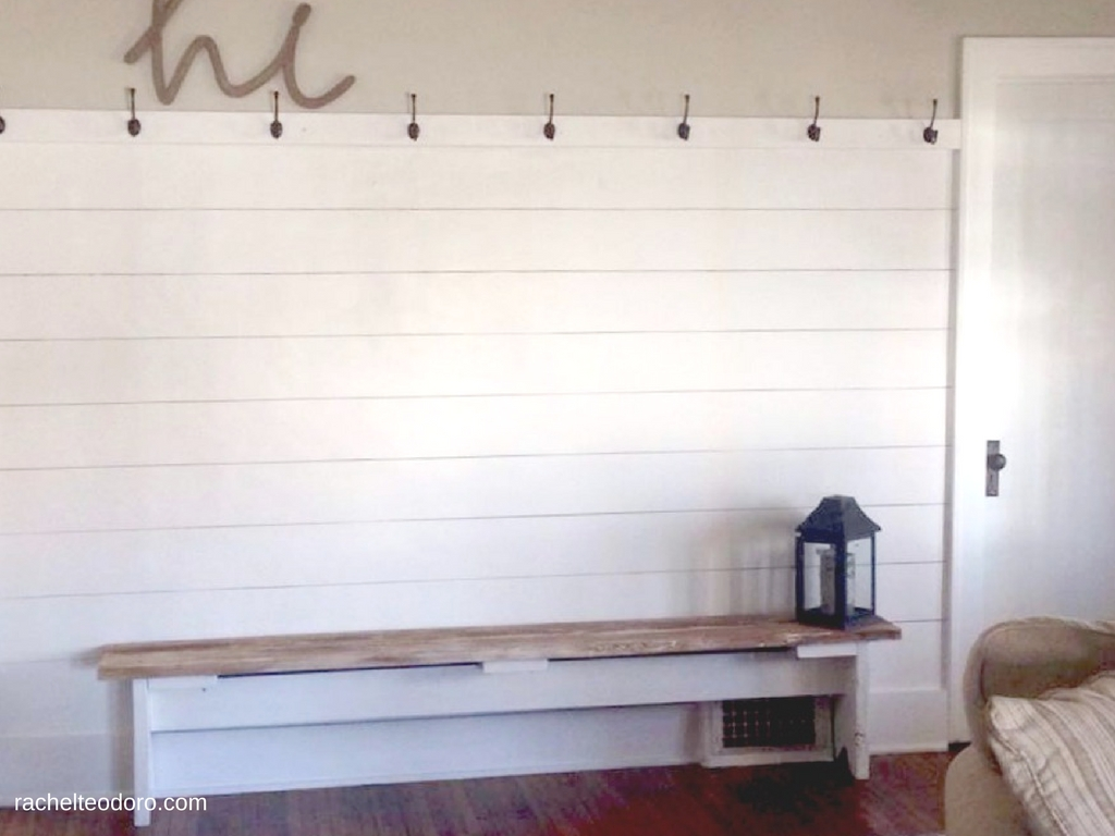 Faux Shiplap Fixer Upper Style Gaines Chip And Joanna Knock Off
