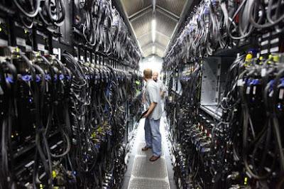 contoh data center yang digunakan microsoft bing
