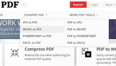 Cara Convert File Microsoft Word ke File PDF