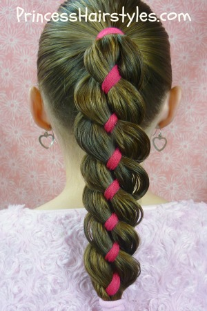 How To 4 Strand Braid Tutorial - Hairstyles For Girls ...