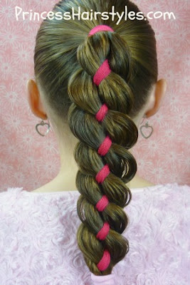 ribbon braid tutorial