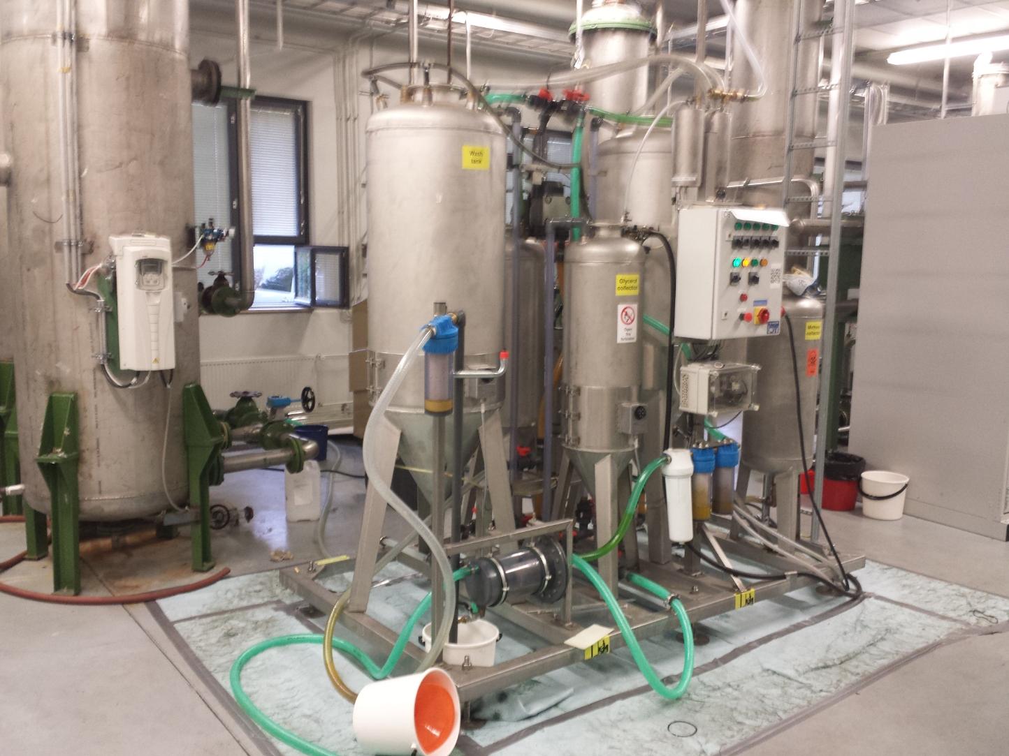Biodieselin Valmistus