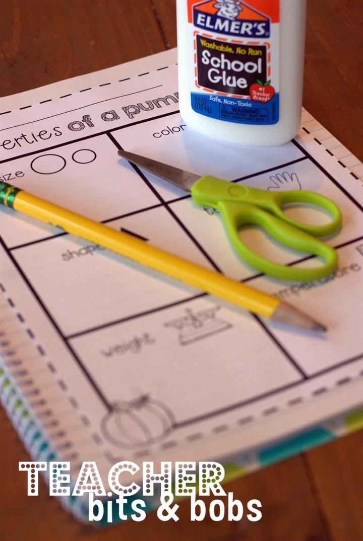 http://www.teacherspayteachers.com/Product/Kindergarten-Science-Notebook-Fall-Edition-1367269
