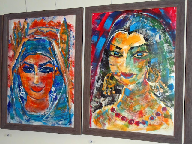 Выставка Ирины Дмитриевой-Ванн, Серена, Душанбе, Таджикистан