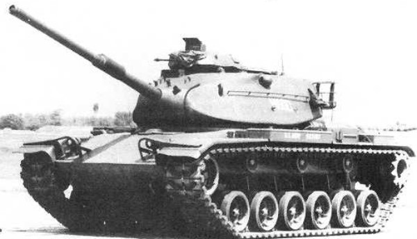 Detroit Tank Factory M60-A1 Patton Carro de combate pesado