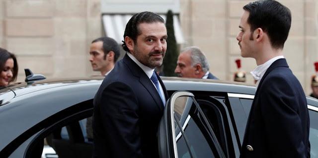 مكتب الحريري: رئيس الحكومة اللبنانية المستقيل يزور مصر الثلاثاء