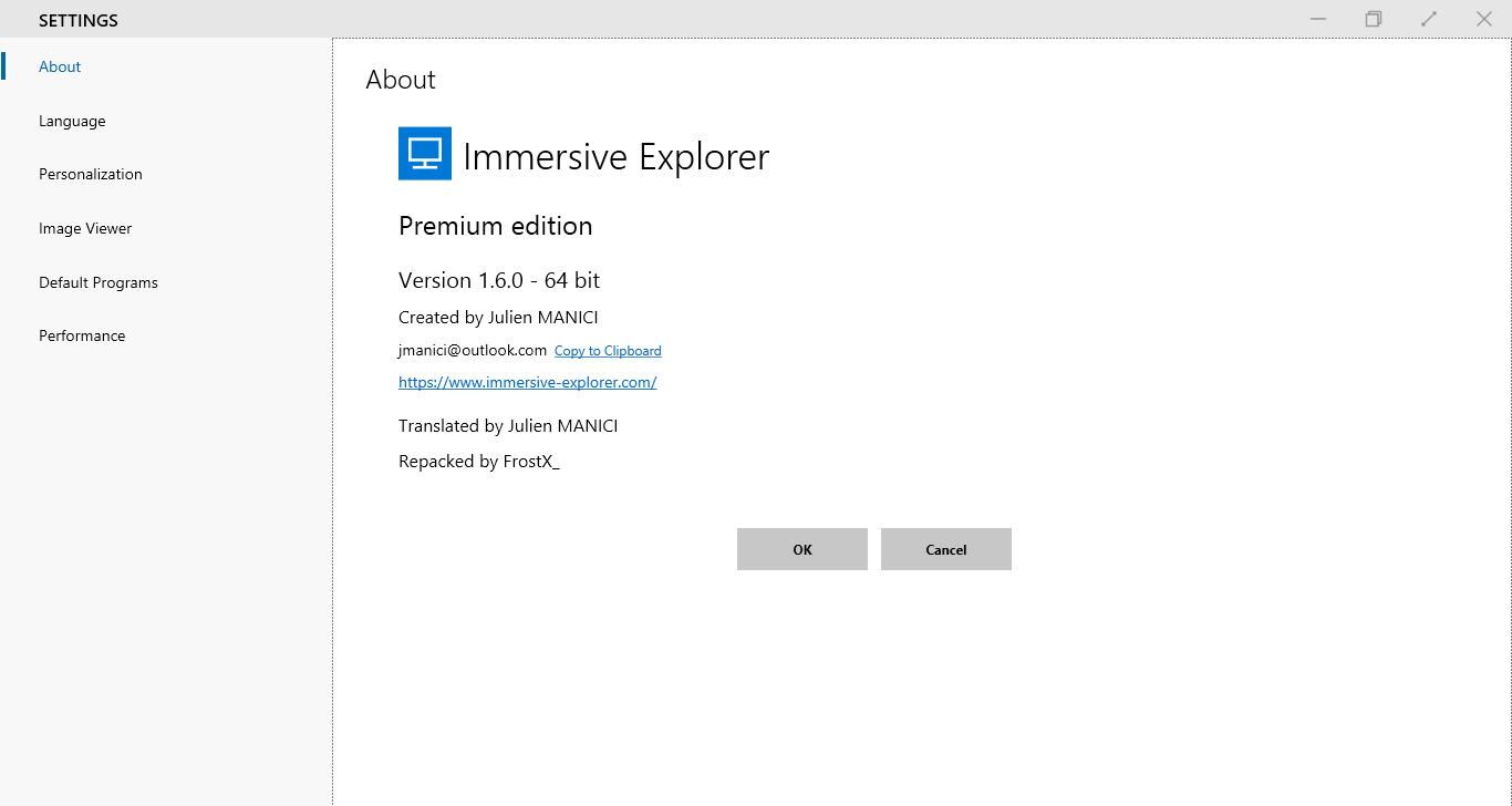 Immersive Explorer 1 6 0 Premium | Repacked - FrostX_00001101