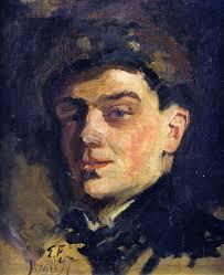 Othon Friesz, Self Portrait, Portraits of Painters, Fine arts, Portraits of painters blog, Paintings of Othon Friesz, Painter Othon Friesz