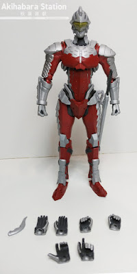 Ultra-Act x S.H.Figuarts Ultraman Suit 7.2 y Bemular - Tamashii Nations