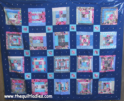 how to make a log cabin quilt