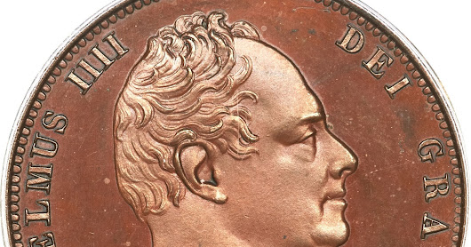 British Coins Halfpenny 1831 King William IV