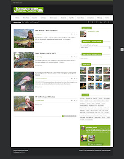 Just-Fish.co.uk new website Beta version
