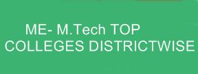 ME- M.tech colleges List
