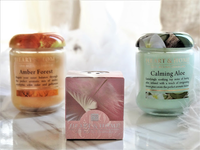 avis Nouvelle Collection Printemps de Heart & Home, blog bougie, candle review, candle blog, avis bougie heart and home, amber forest, calming aloe, guardian angel, bougie parfumee