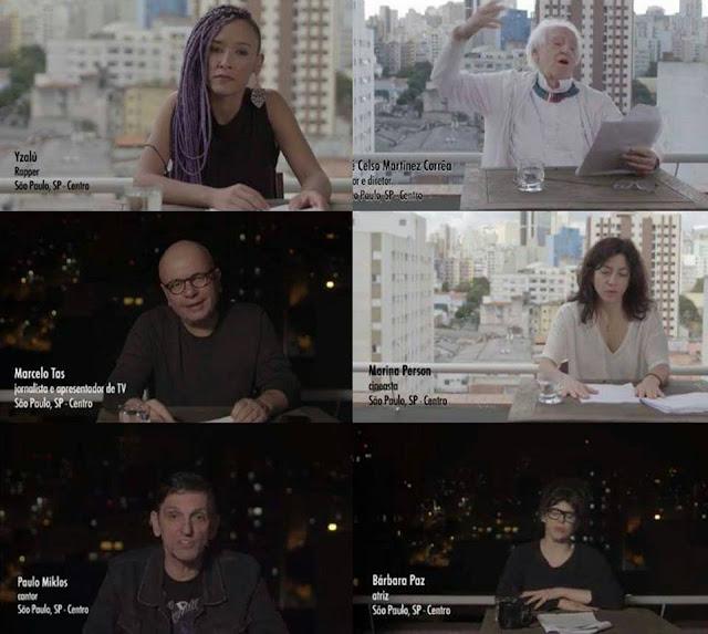 Artistas e intelectuais participam da vigilia pelos 111 mortos no Carandirú