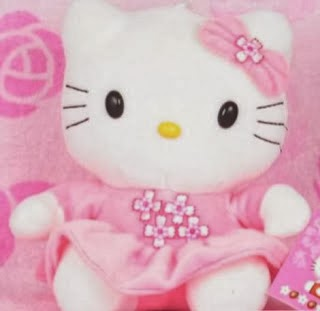 Boneka hello kitty lucu