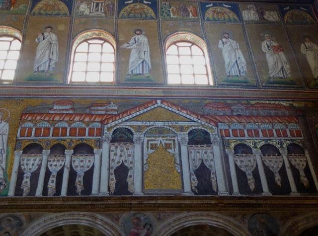 mosaici della basilica di sant'apollinare nuovo