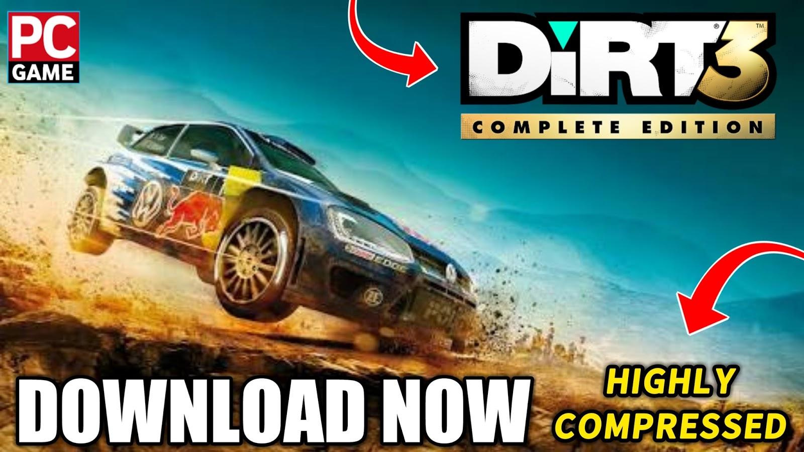 Dirt 3 PC Game - Free Download Full Version