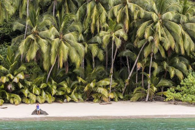 Raj na morzu - Coiba w Panamie