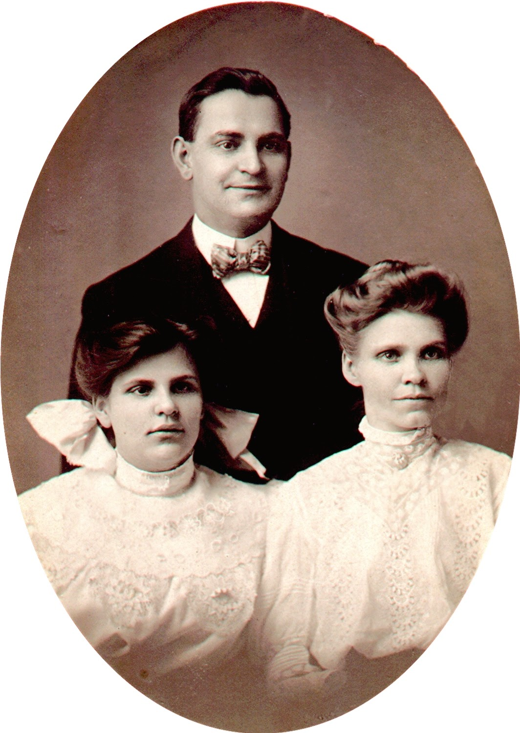 Frank E., Ethel and Fannie (Smith) Clark