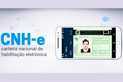 Com a carteira de habilitação digitalizada, motorista poderá apresentá-la no celular