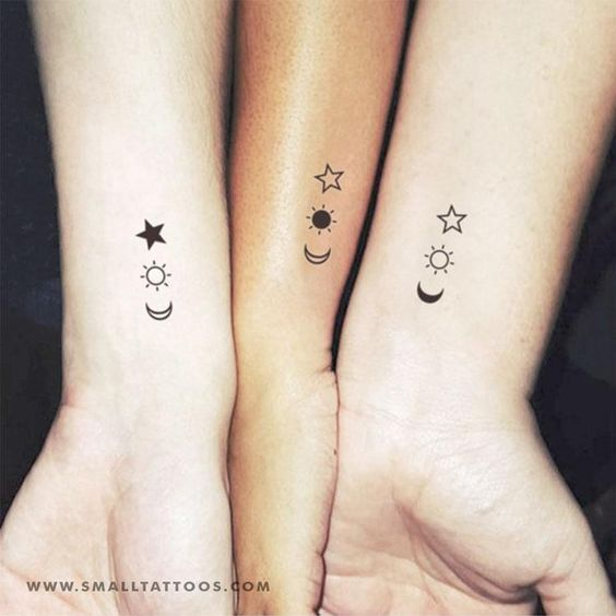 250 Matching Best Friend Tattoos For Boy And Girl 2019