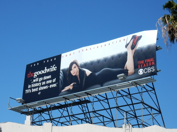 Good Wife final season Emmy billboard