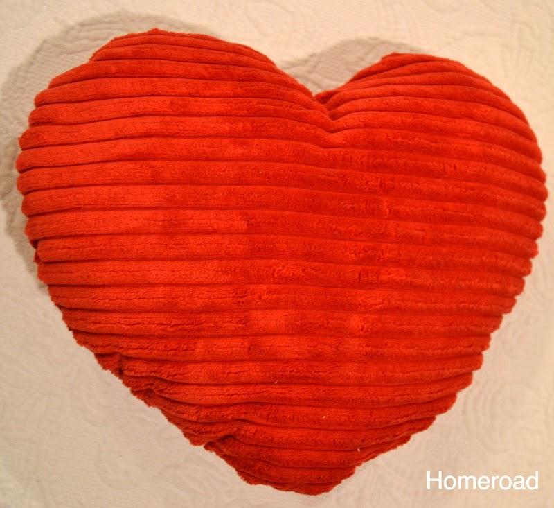 Dollar Store Valentine Pillows