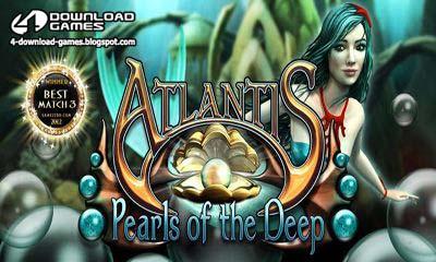 لعبة اطلانتس المدينة المفقودة Atlantis Pearls of the deep